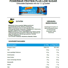 PowerBar ProteinPlus Bar Box 30x35g Chocolate Espresso